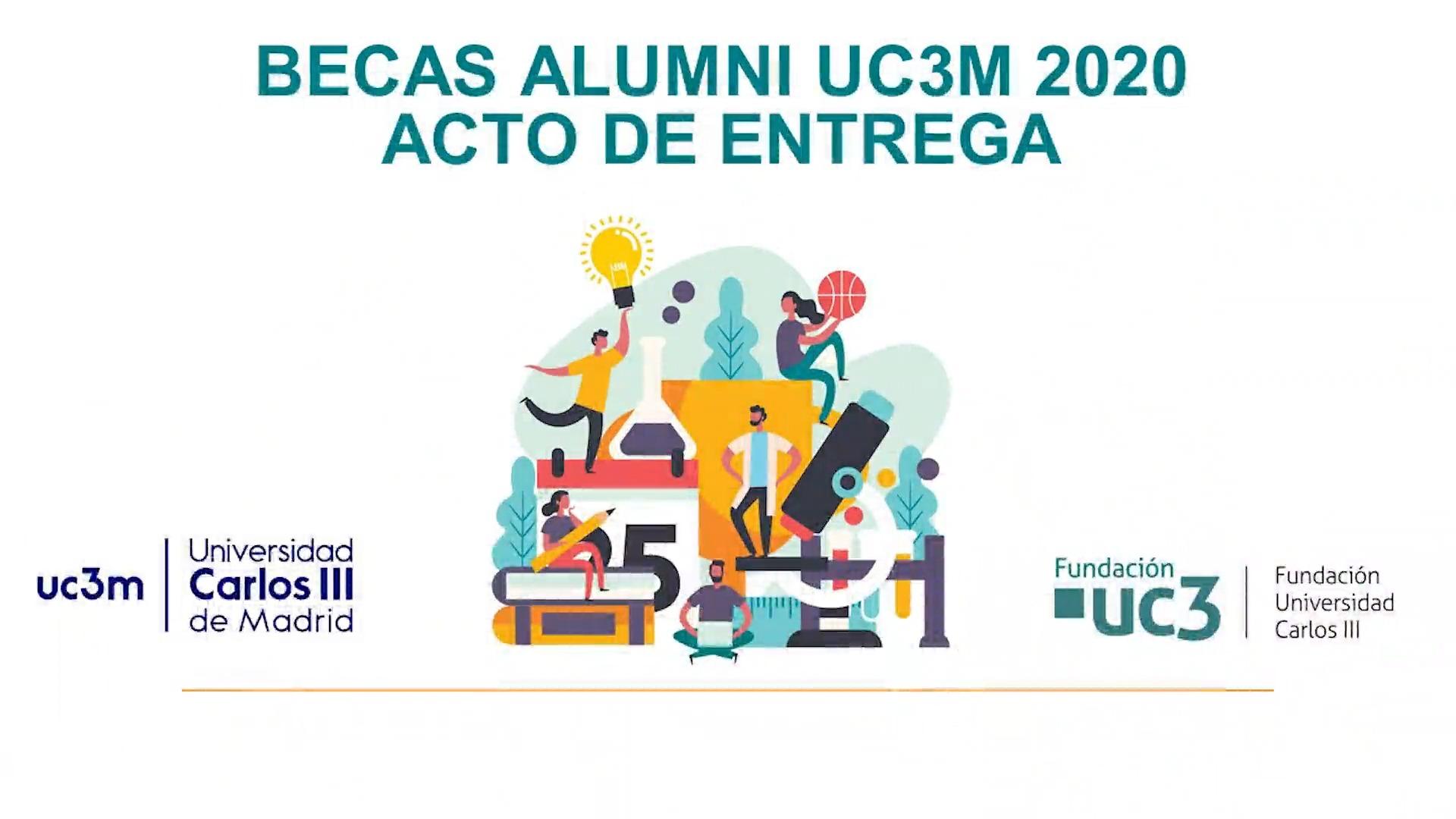 Acto de entrega de las Becas Alumni 2020
